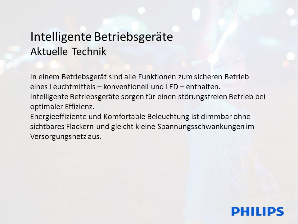 Intelligente Betriebsgeräte Aktuelle Technik