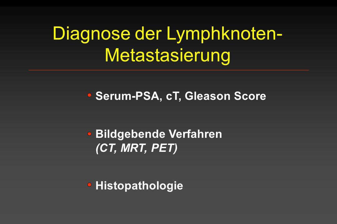 Diagnose der Lymphknoten-Metastasierung