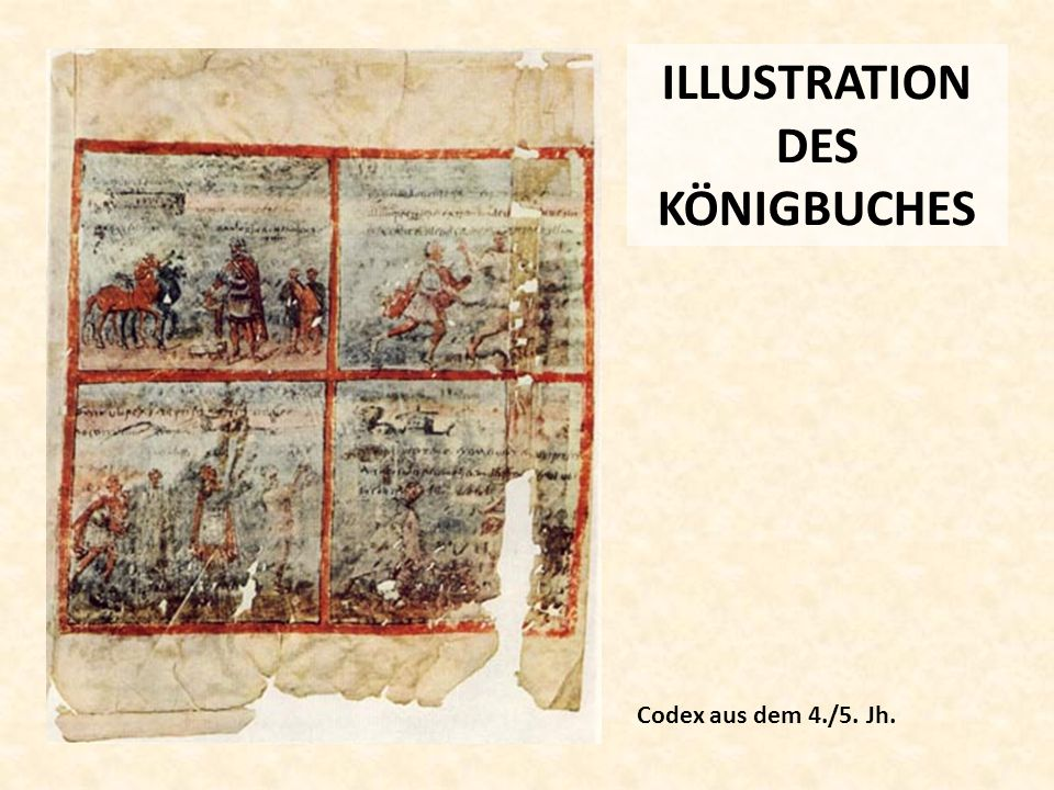 ILLUSTRATION DES KÖNIGBUCHES