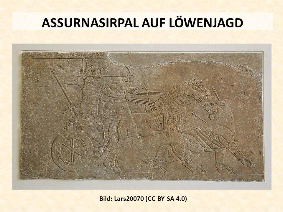 ASSURNASIRPAL AUF LÖWENJAGD