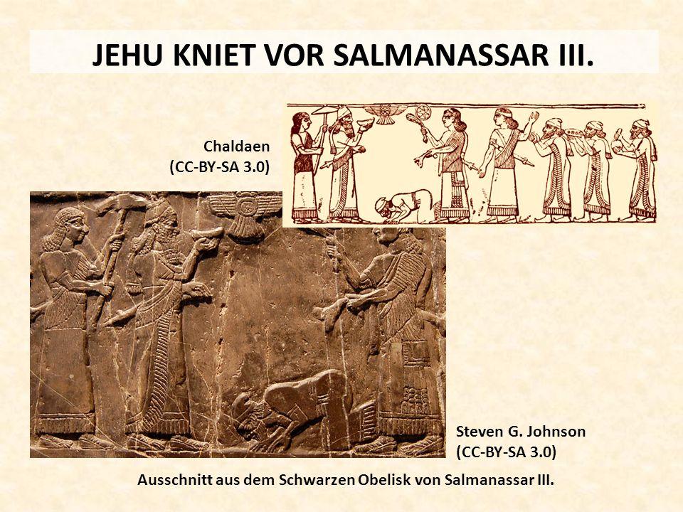 JEHU KNIET VOR SALMANASSAR III.