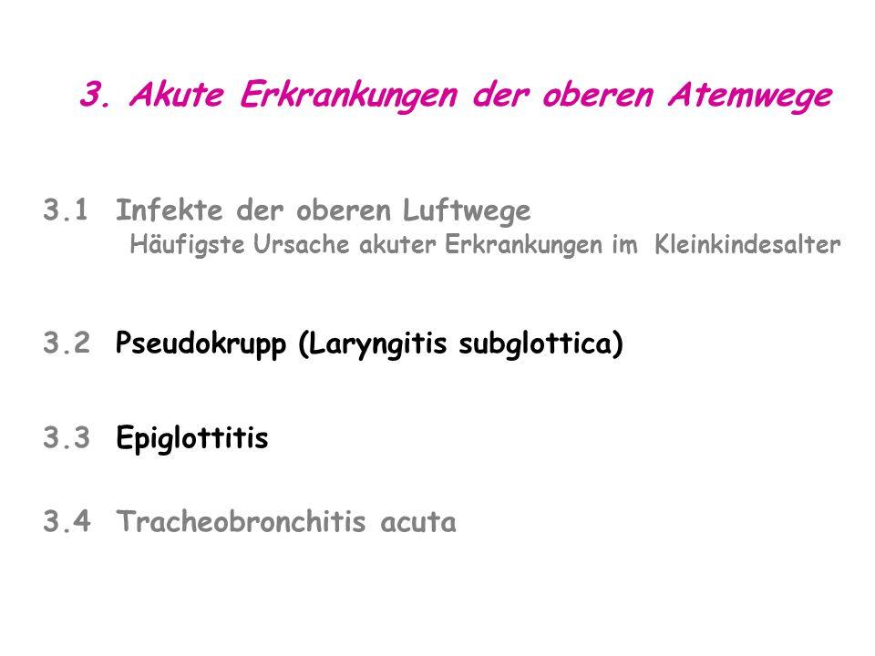 3. Akute Erkrankungen der oberen Atemwege