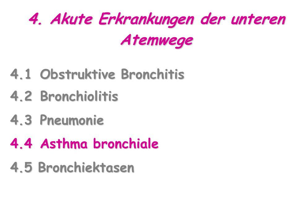 4. Akute Erkrankungen der unteren Atemwege