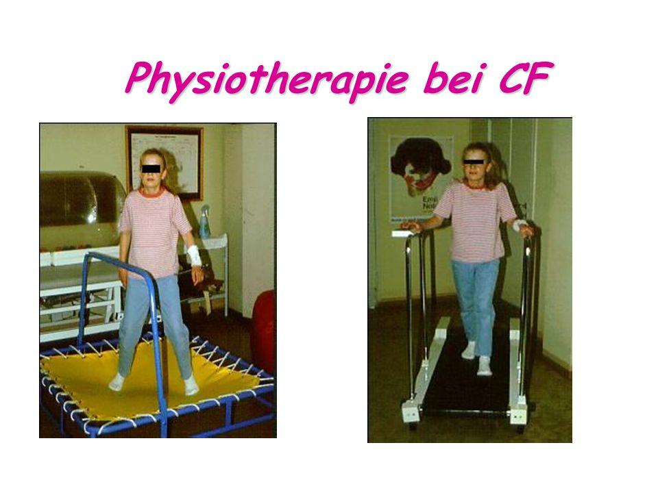 Physiotherapie bei CF