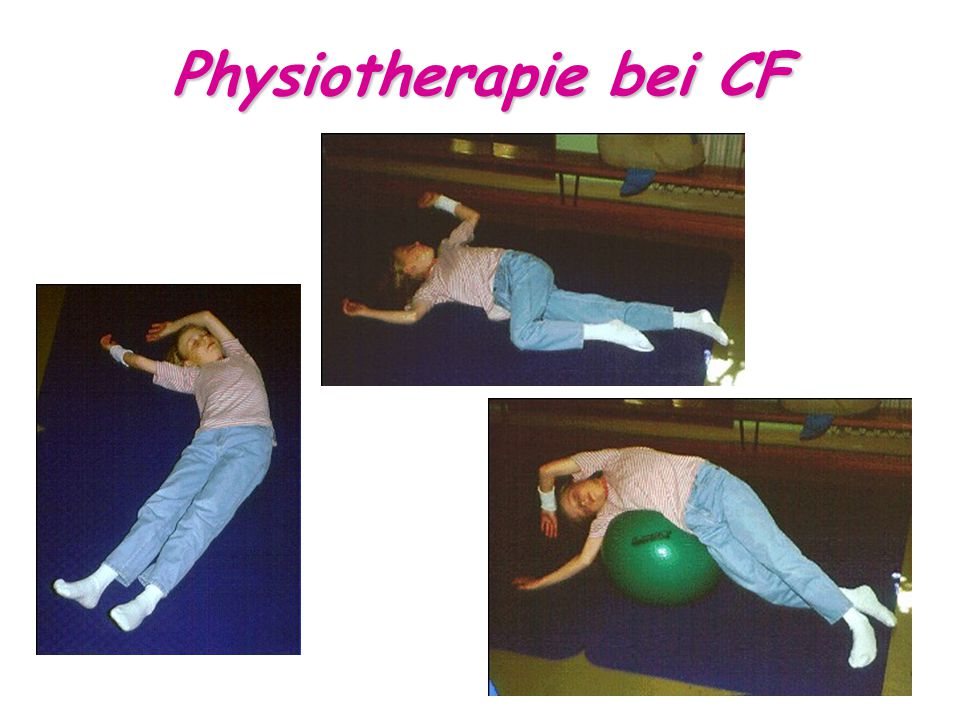 Physiotherapie bei CF