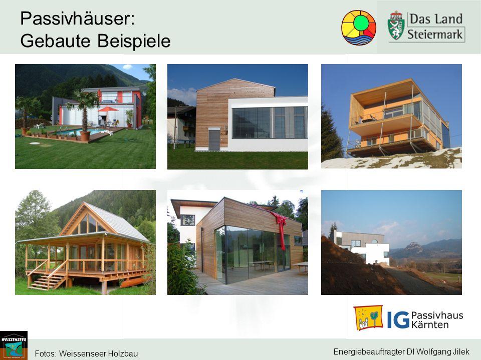 Passivhäuser: Gebaute Beispiele