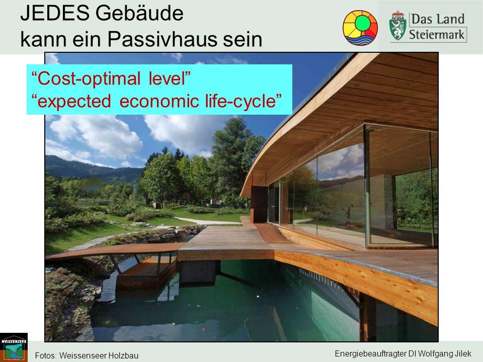 JEDES Gebäude kann ein Passivhaus sein