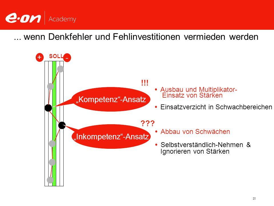 """""""Inkompetenz -Ansatz"""
