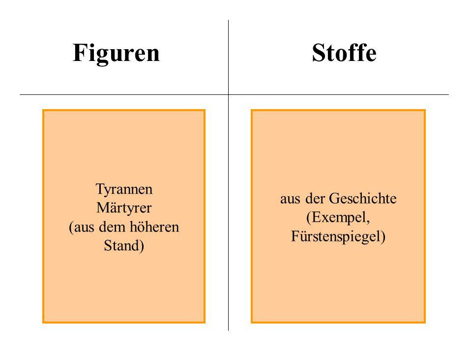 Figuren Stoffe Tyrannen aus der Geschichte Märtyrer (Exempel,