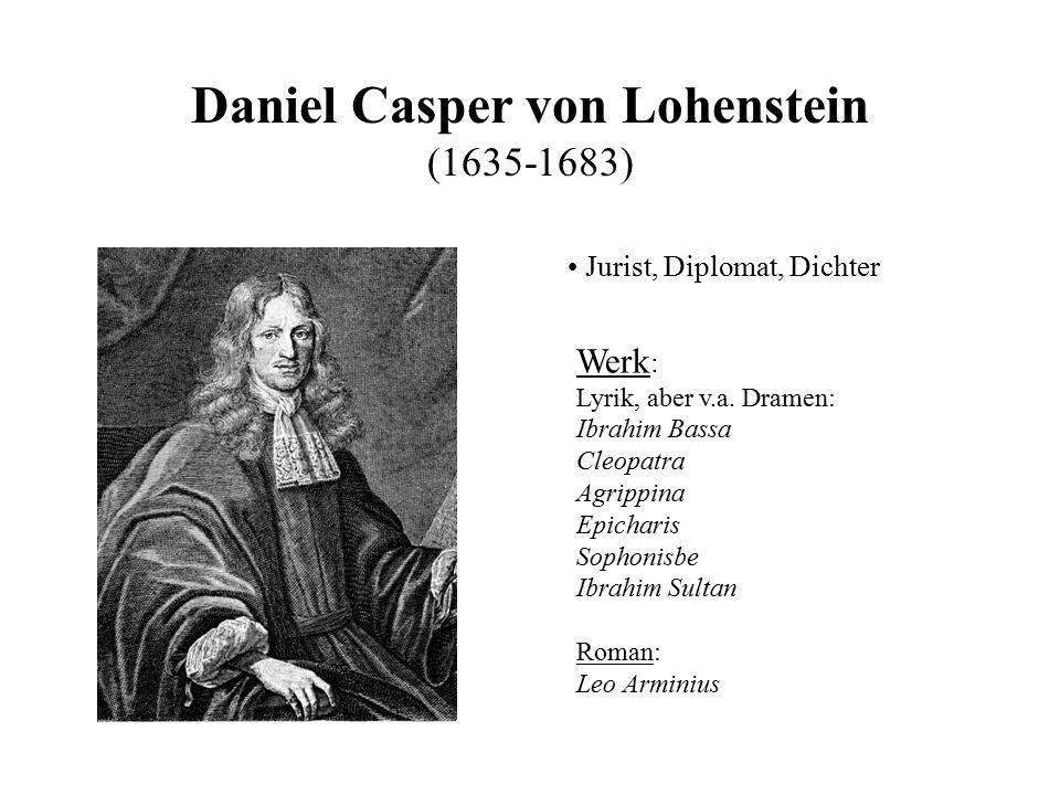 Daniel Casper von Lohenstein