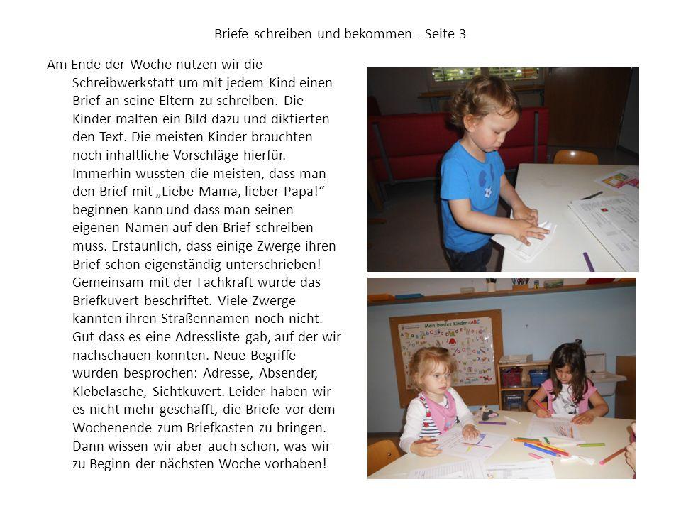 Briefe schreiben und bekommen - Seite 3