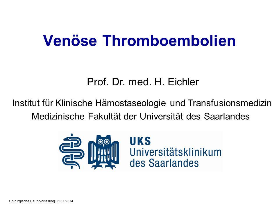 Venöse Thromboembolien