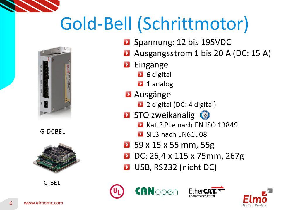 Gold-Bell (Schrittmotor)