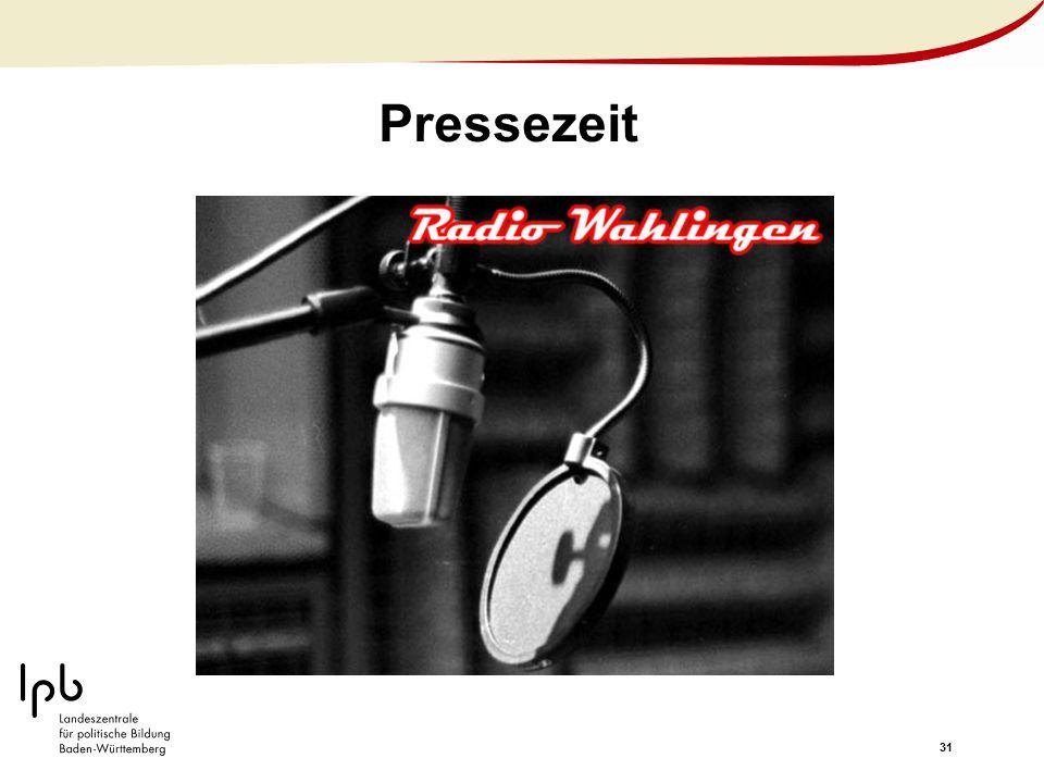 Pressezeit