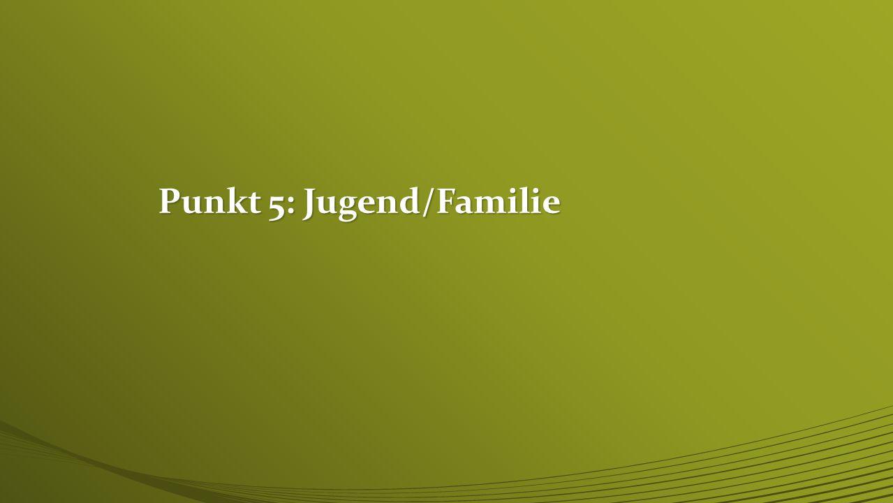 Punkt 5: Jugend/Familie