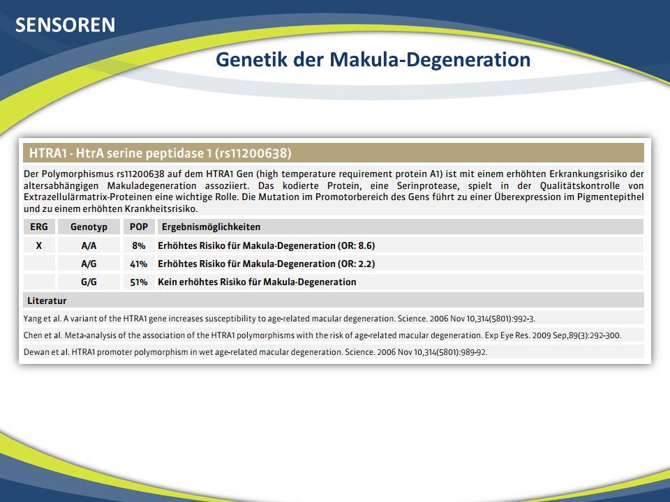 Genetik der Makula-Degeneration