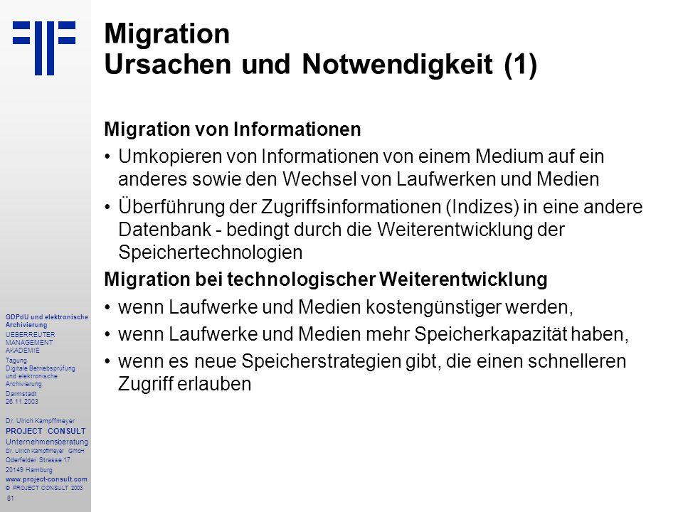 Migration Ursachen und Notwendigkeit (1)
