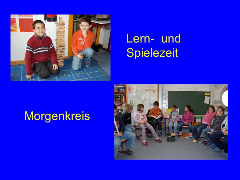 Lern- und Spielezeit Morgenkreis