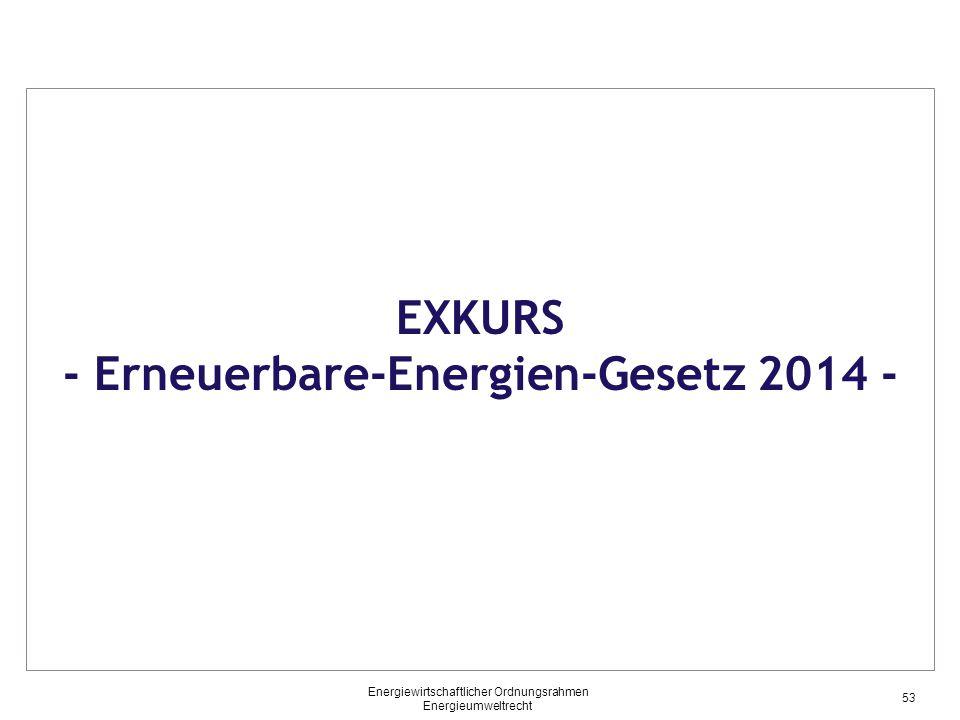 - Erneuerbare-Energien-Gesetz 2014 -