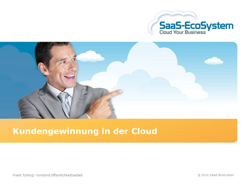 Kundengewinnung in der Cloud