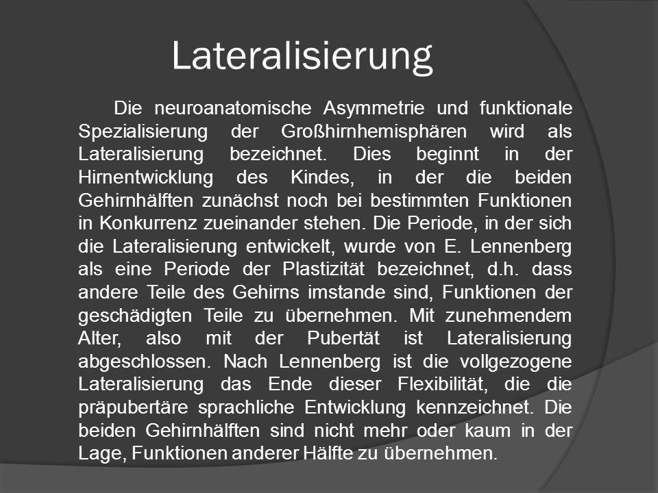 Lateralisierung