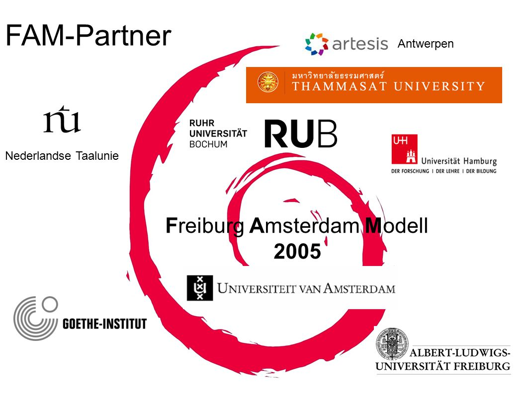 FAM-Partner Freiburg Amsterdam Modell 2005 Antwerpen