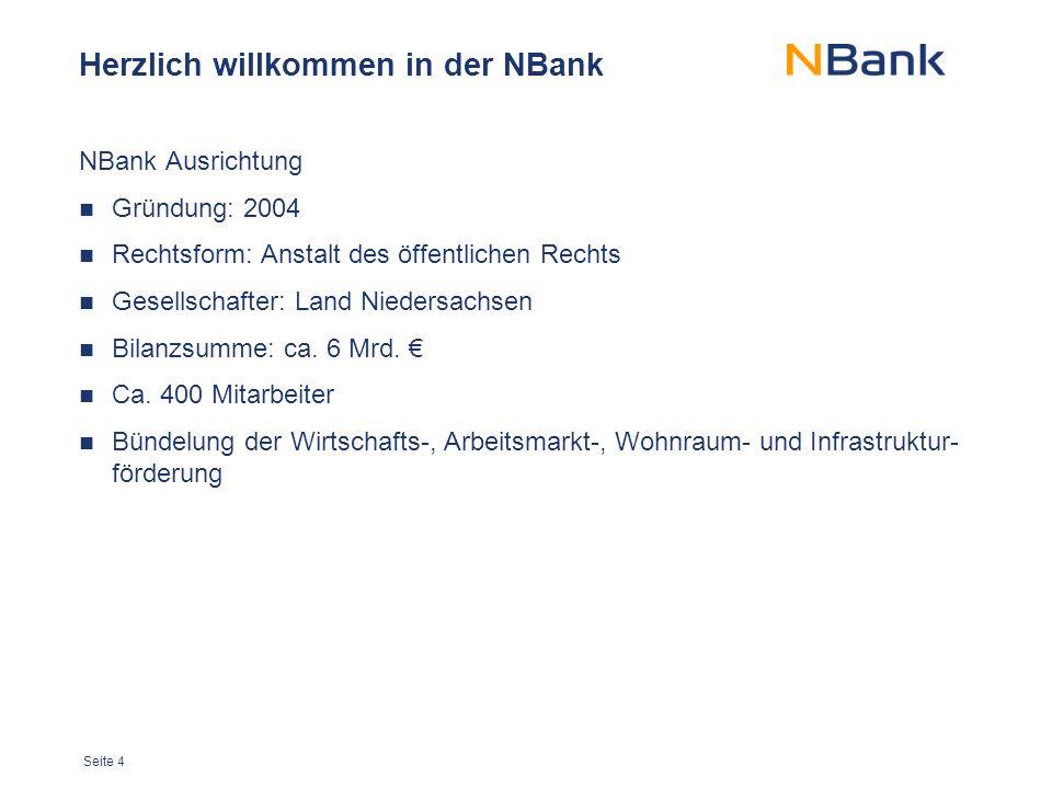 Herzlich willkommen in der NBank