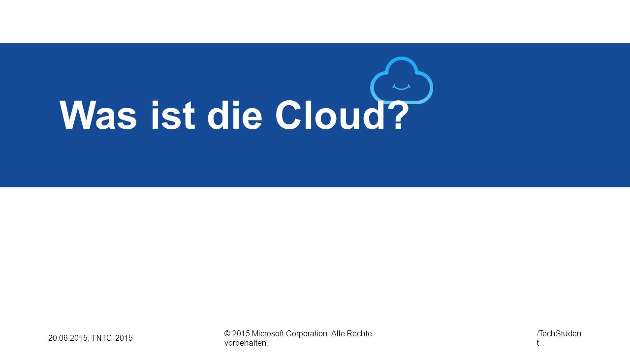 Was ist die Cloud