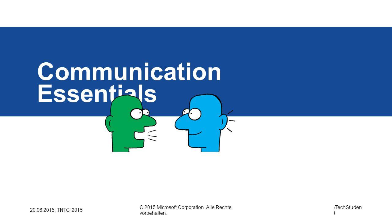 Communication Essentials