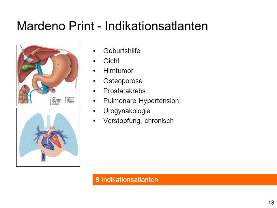 Mardeno Print - Indikationsatlanten