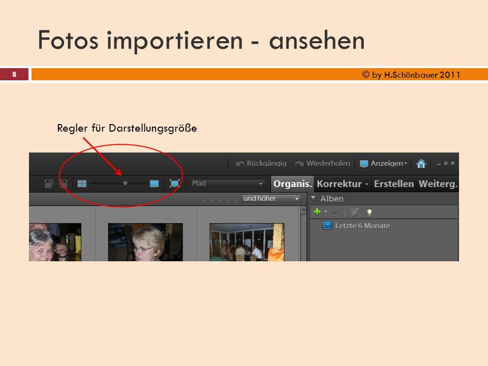 Fotos importieren - ansehen