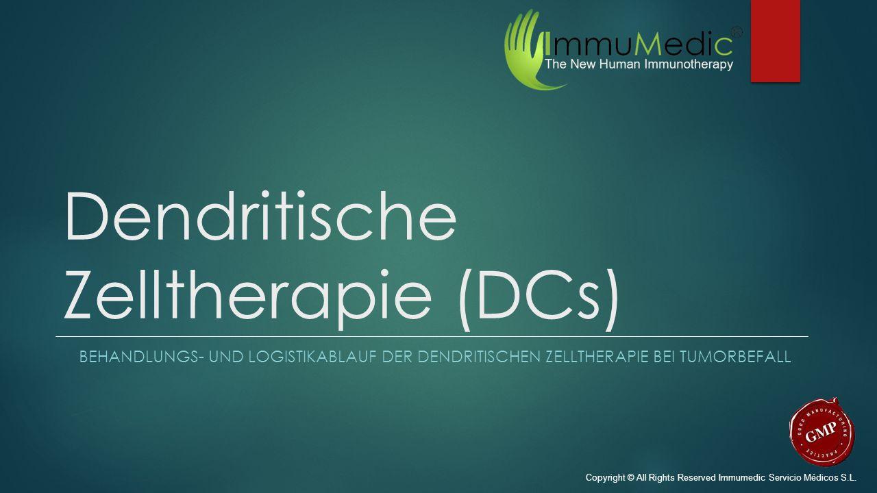 Dendritische Zelltherapie (DCs)