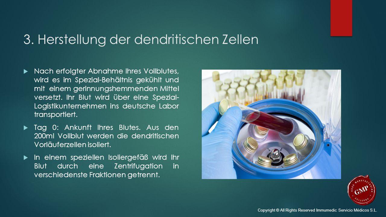 3. Herstellung der dendritischen Zellen