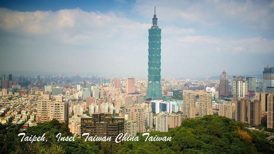 Taipeh, Insel Taiwan China Taiwan