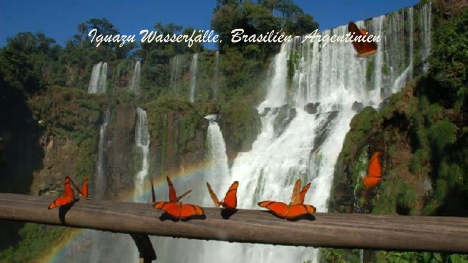 Iguazu Wasserfälle, Brasilien-Argentinien