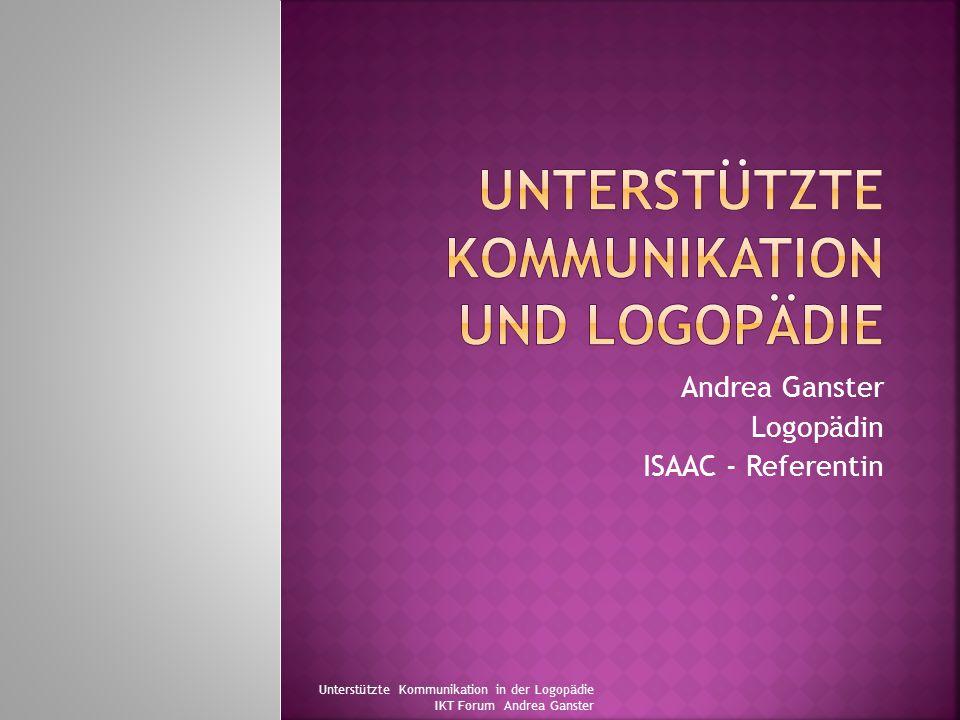Unterstützte Kommunikation und Logopädie