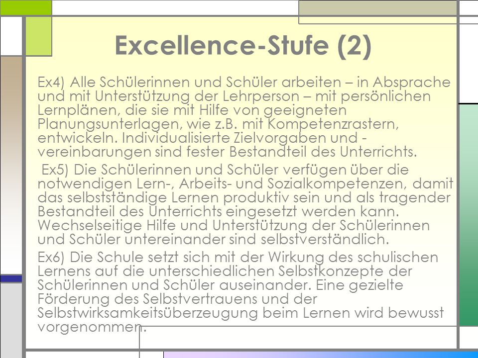 Excellence-Stufe (2)