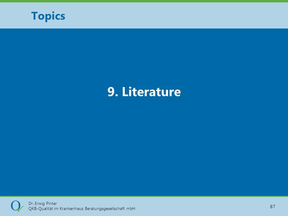Topics 9. Literature