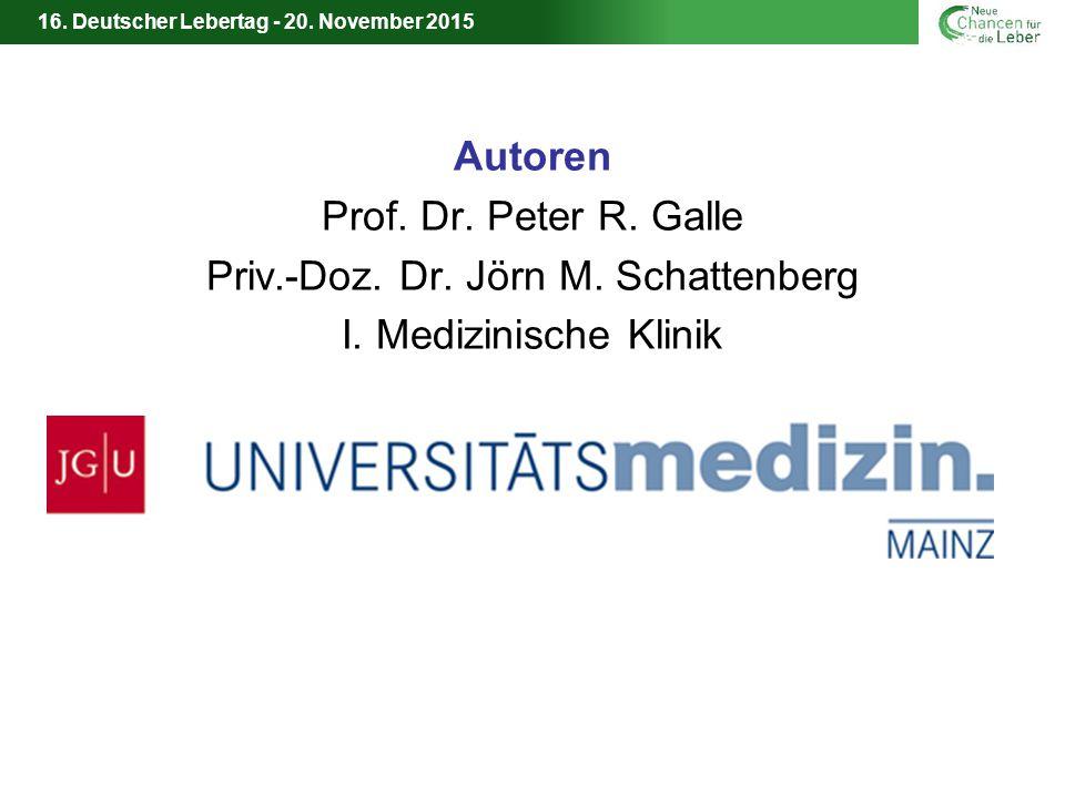 Priv.-Doz. Dr. Jörn M. Schattenberg