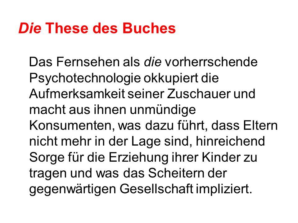 Die These des Buches