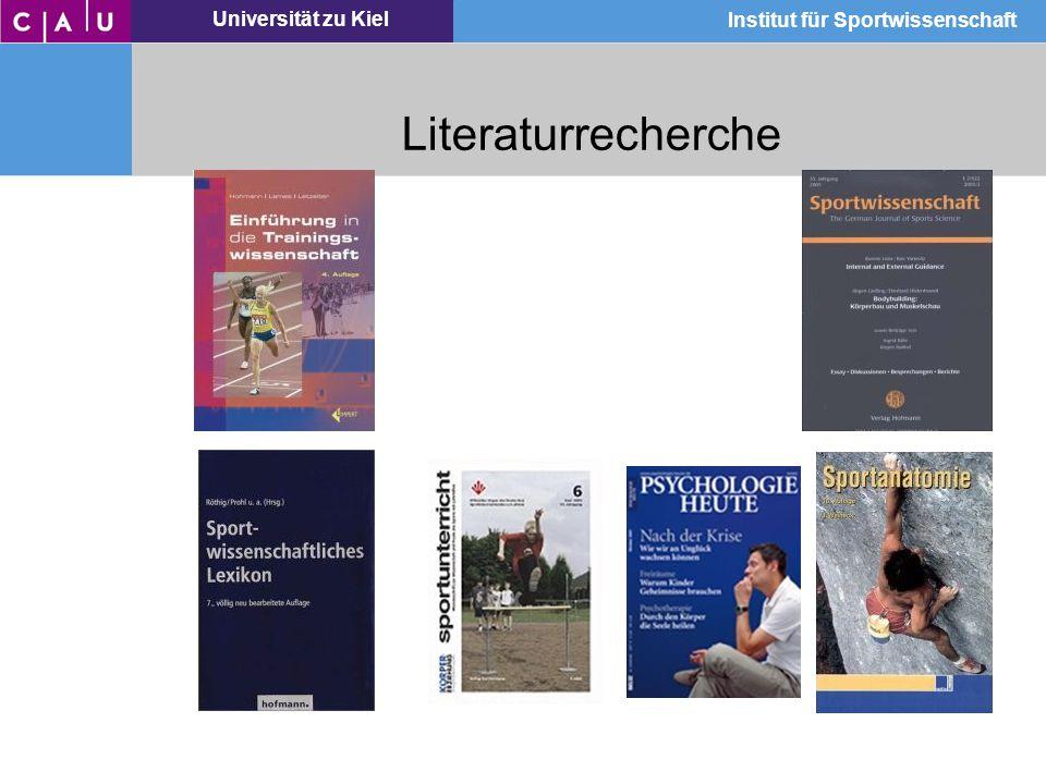 Literaturrecherche Referat, Zwischenprüfung, Hausarbeit, Examensarbeit, Eigenstudium, usw.