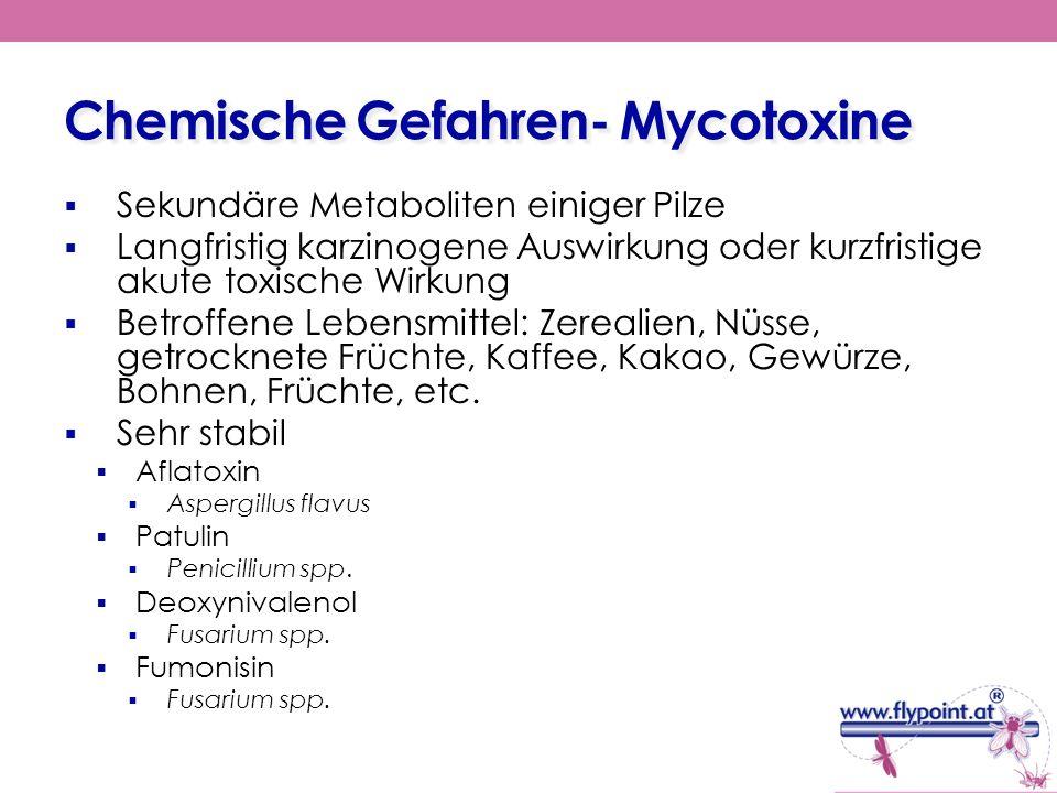 Chemische Gefahren- Mycotoxine