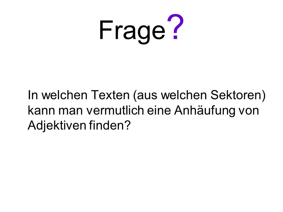 Frage.