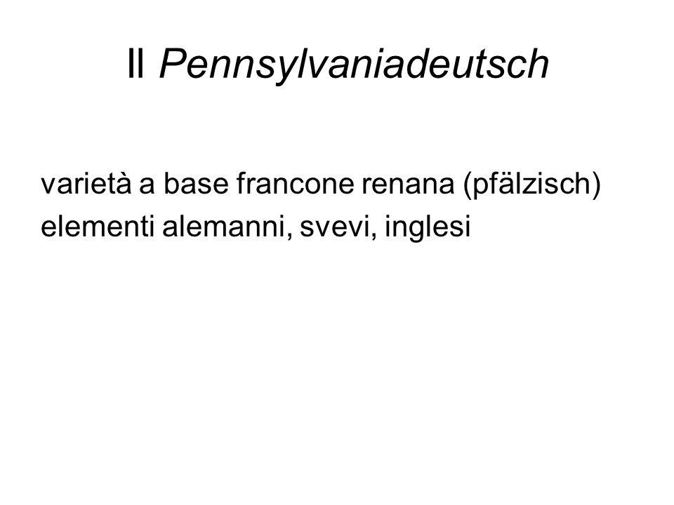 Il Pennsylvaniadeutsch