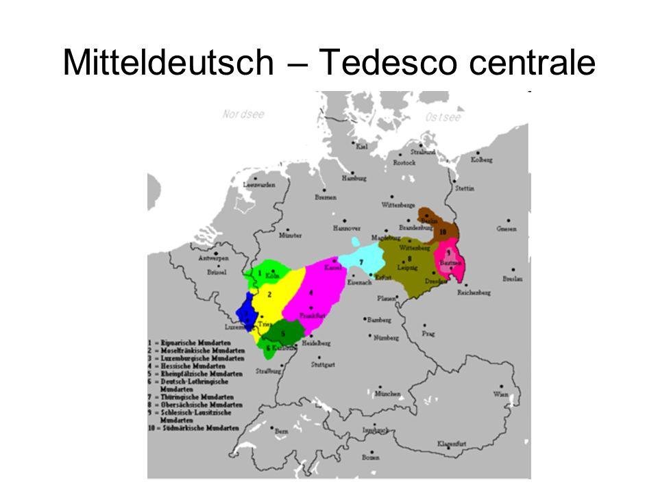 Mitteldeutsch – Tedesco centrale