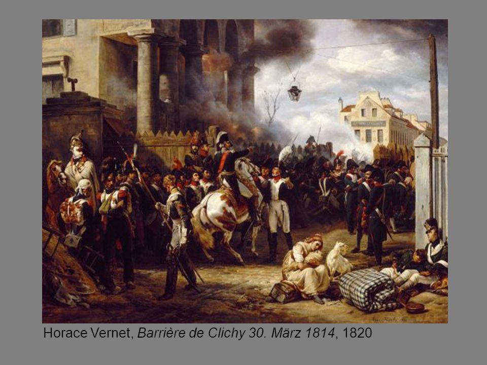 Horace Vernet, Barrière de Clichy 30. März 1814, 1820