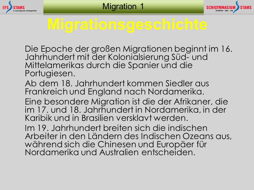Migrationsgeschichte