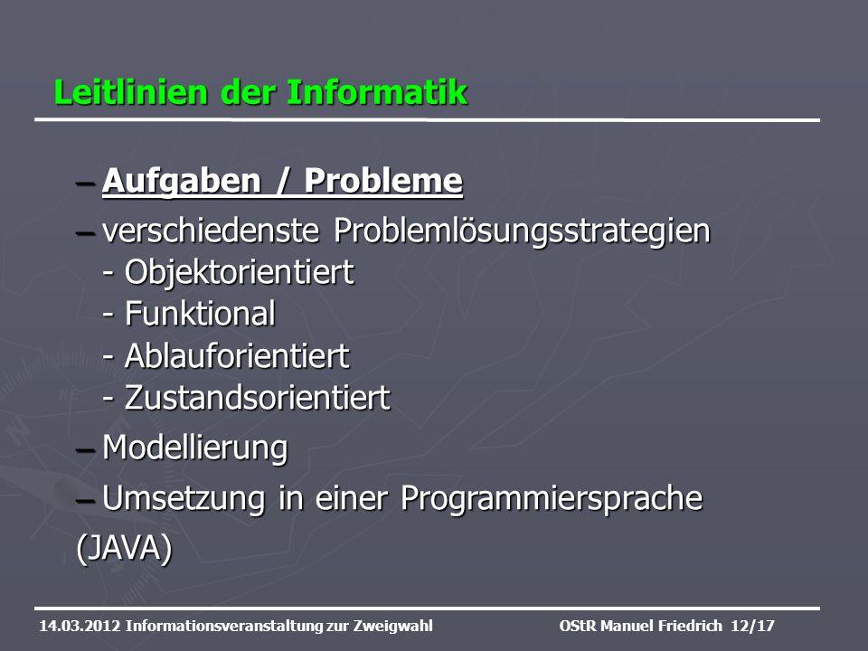 Leitlinien der Informatik