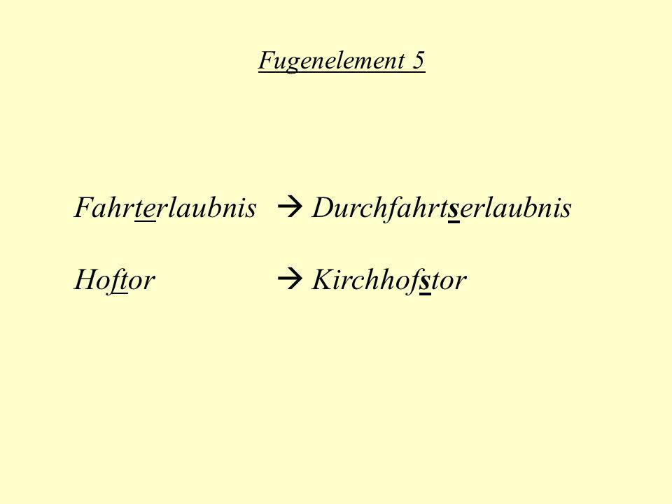 Fahrterlaubnis  Durchfahrtserlaubnis Hoftor  Kirchhofstor
