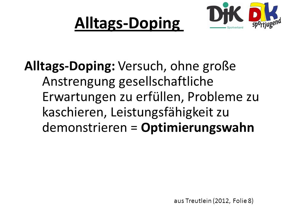 Alltags-Doping